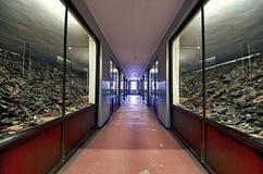 museum poland för auschwitz lägerkoncentration Arkivfoton