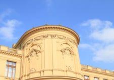 Museum in Praag Stock Afbeeldingen