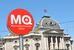 Museum Quarter in Vienna, Austria Stock Images