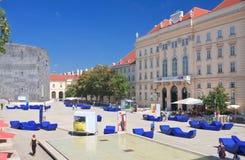 Museum Quarter. Vienna, Austria Stock Image