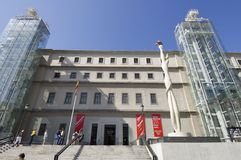 Museum Reina Sofia Royalty Free Stock Images