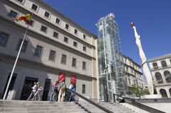 Museum Reina Sofia Royalty Free Stock Photos