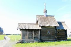 The Museum-reserve Kizhi in Karelia, Russia. The Museum-reserve Kizhi on lake Onega in Karelia, Russia royalty free stock images
