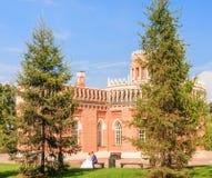 Museum-Reserve Tsaritsyno Drittes Kavallerie-Korps Lizenzfreie Stockfotografie