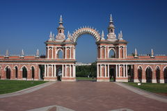 "Museum - reserve ""Tsaritsyno"". Galarea. Royalty Free Stock Image"