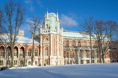 The Museum-reserve `Tsaritsyno`, Moscow, Russia Royalty Free Stock Images