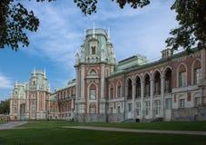 Museum-Reserve Tsaritsyno in Moskau, Russland. Stockbild