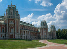 Museum-Reserve Tsaritsyno in Moskau, Russland. Stockfoto