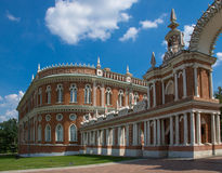 Museum-Reserve Tsaritsyno in Moskau, Russland. Stockfotografie