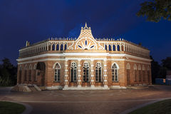 Museum-reserve Tsaritsyno. The  second cavalry corps at night Stock Images
