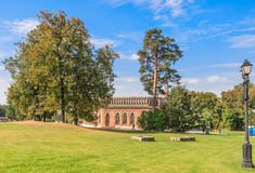Museum-Reserve Tsaritsyno. Third Cavalry Corps Stock Images