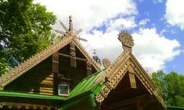 Museum-reserven Abramtsevo Royaltyfri Fotografi