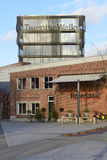 Museum and restaurant in rebuilt Roombeek Stock Image