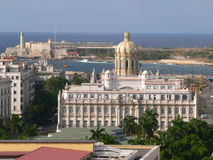 Museum of the revolution. View of the museum of the revolution malecon on the background stock photo