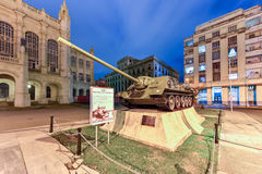 Museum of the Revolution in Havana Royalty Free Stock Images