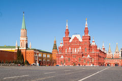 Museum of the revolution. Moscow. Revolution Museum. Red Square Royalty Free Stock Images