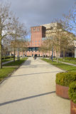 Museum road through rebuilt Roombeek Royalty Free Stock Images