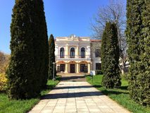 Museum of Romanian literature in Iasi Stock Photography