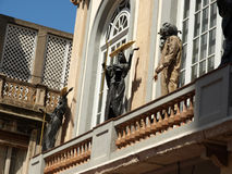 Museum of Salvadore Dali. Facade Salvadore Dali's  museum-theatre, Figueras, Spain Royalty Free Stock Image