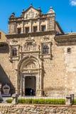Museum of Santa Cruz in Toledo. TOLEDO,SPAIN - APRIL 23,2016 - Museum of Santa Cruz in Toledo. Toledo is known as City of the Three Cultures stock photos