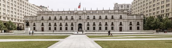 Museum in Santiago, Chile royalty free stock photo