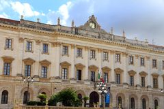 Museum Sassari Sardinige Italië Royalty-vrije Stock Afbeelding