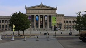 The Museum of Science and Industry in Chicago stock video footage