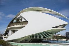 Museum of Science Prince Felipe, Valencia, Spain, Editorial. Museum of Science Prince Felipe, Valencia, Spain Editorial Stock Photo