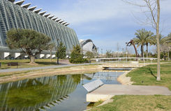 Museum of Science. Valencia. Spain Royalty Free Stock Photography