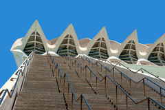 Museum of Sciences Principe Felipe in Valencia Royalty Free Stock Photos