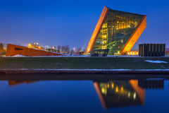 The Museum of the Second World War in Gdansk, Poland Royalty Free Stock Photo