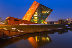 The Museum of the Second World War in Gdansk, Poland Stock Images