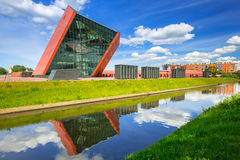 Museum of the Second World War in Gdansk Royalty Free Stock Photography