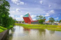 Museum of the Second World War in Gdansk Stock Photos