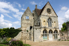 Museum of Senlis and the park, Oise, France Stock Image