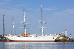 Museum Ship Gorch Fock at Stralsund Stock Images