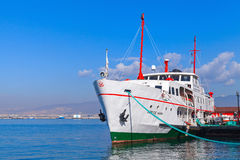 Museum Ship moored in Izmir city, Turkey Royalty Free Stock Photography