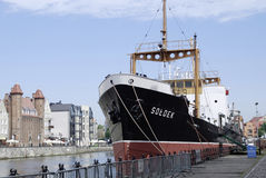 Museum ship Soldek in Gdansk Royalty Free Stock Photos