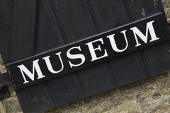 Museum Sign Stock Photos