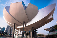 Museum Singapur-ArtScience lizenzfreies stockbild