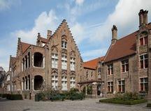 Museum Sint-Jan. in Brügge, Belgien Stockbild