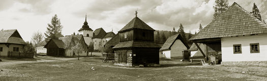 Museum in slovakia Pribilina Royalty Free Stock Photography