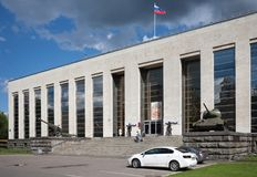 Museum of the Soviet Army in Moscow 21.07.2017 Stock Image