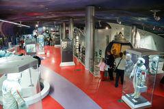 Museum of Soviet space exploration. Royalty Free Stock Image