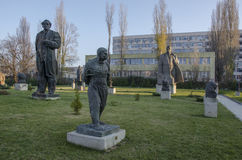 Museum sozialistischer Art Sofia-Stadt Bulgarien Stockfotografie