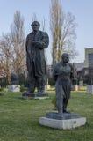 Museum sozialistischer Art Sofia-Stadt Bulgarien Stockfotos