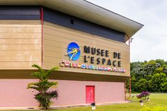 Museum of Space in Kourou, French Guiana Stock Photography