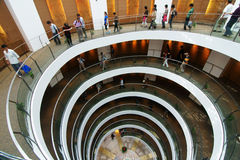 Museum of the spiral staircase in Saudi Arabia Stock Photography