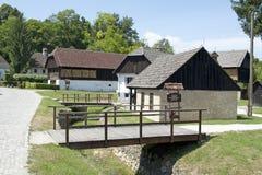 Museum Staro Selo in Kumrovec Lizenzfreie Stockbilder