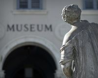 Museum and Statue Abstract Royalty Free Stock Photos